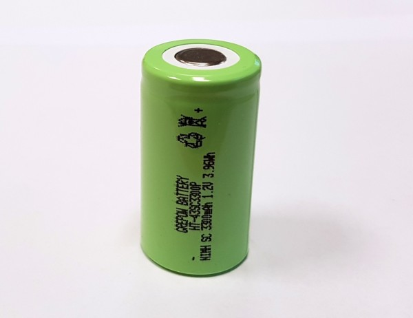 GREPOW SC 3300mAh 1.2V NiMH High Temperature Akku