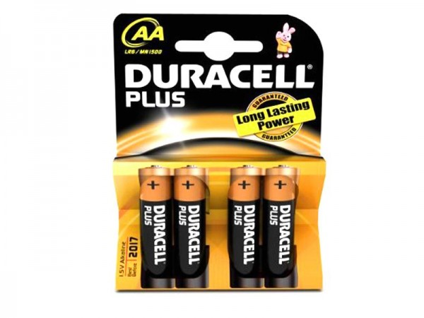 Batterie Duracell Plus Power MN1500/LR6 Mignon AA (4 Stk)